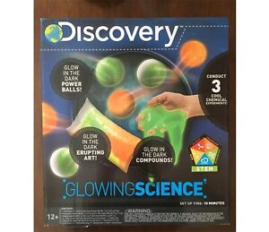 Discovery Glow in the Dark Science Kit (New in Box)