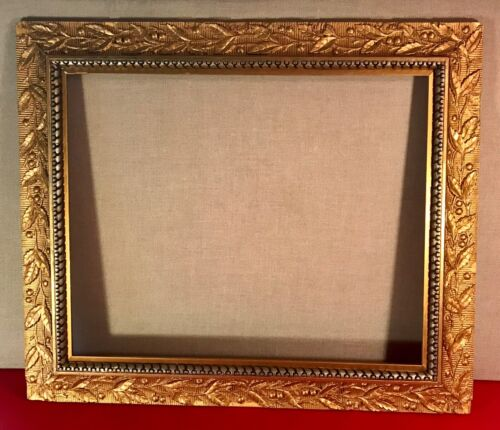 Wood & Gilt Gesso Aesthetic Movement Picture Frame 27 in. x 23 in. ca 1870-1900
