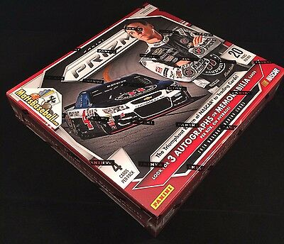 2016 Panini Prizm Nascar Racing Factory Sealed Hobby Box