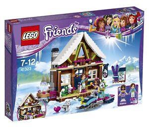 LEGO Friends 41323: Snow Resort Chalet - Brand New