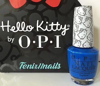 OPI HELLO KITTY NL H90 MY PAL JOEY true blue nail lacquer polish color NEW Hello Kitty Pal