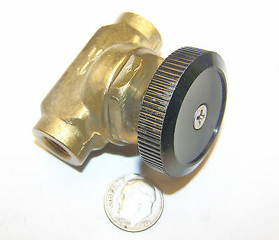 AIRCRAFT F4 SUPPORT EQUIPMENT CONTAINER SERVICES 113-3085 STOP VALVE 1/8 NPT 300