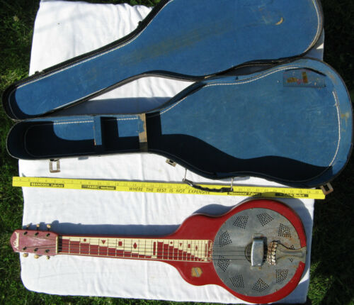 Vintage National Reso-Phonic Guitar & Case Resophonic