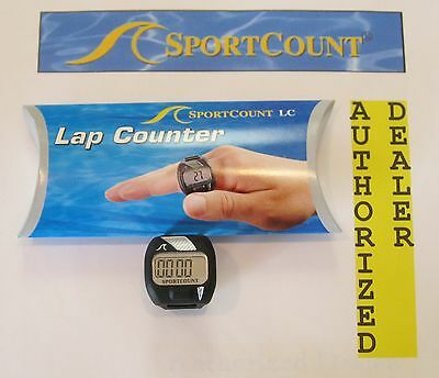 *NEW* SportCount LAP Counter Swim Ring Run Finger Waterproof Tally Count