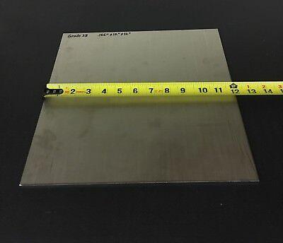 0.125 X 12 X 12 Ati 425 Grade 38 Titanium Armor Plate