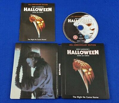 blu-ray HALLOWEEN 35th Anniversary Steelbook Edition *z UK EXCLUSIVE - Halloween 35th Anniversary Edition