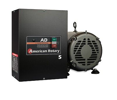 Rotary Phase Converter Ad5 5 Hp Digital Controls Heavy Duty Hd Cnc Usa Made