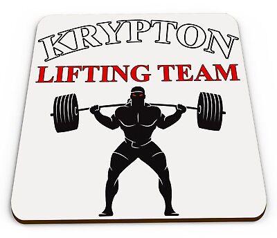 Krypton Lifting Team Gym, Weights Novelty Mug COASTER ()