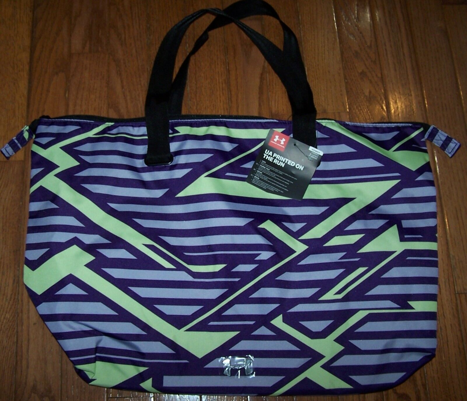 NWT Under Armour Womens On The Run Tote Gym Bag Sports