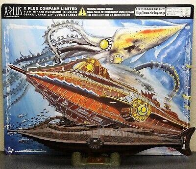X Plus Disney 20,000 Leagues Under the Sea Nautilus Excellent Condition Opened