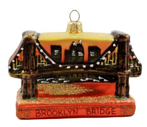 Brooklyn Bridge New York Manhattan Travel Christmas Tree Ornament Poland 110092