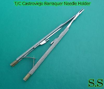 Tc Castroviejo Barraquer Needle Holder 16 Cm Surgical Dental Instruments