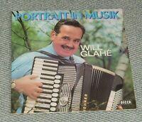 Will Glahe Portrait in Musik LP Vinyl Schallplatte Akkordeonmusik Bayern - Röthenbach Vorschau