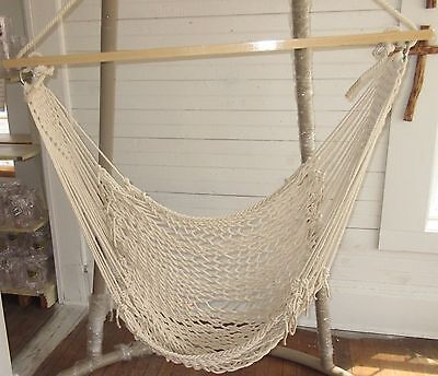 - Castaway Hammocks Single Cotton Rope Hammock SWING by Pawleys Island