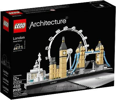 LEGO Architecture 21034 - London - New & Sealed! Big Ben, Tower Bridge, The Eye7