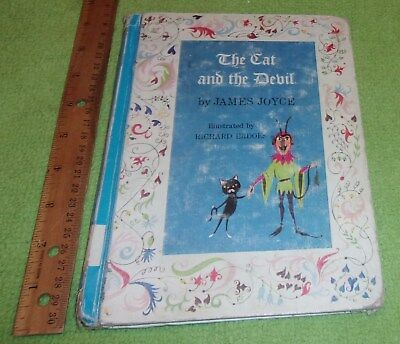 The Cat and the Devil hardcover book James Joyce 1967 Cadmus Edition Halloween