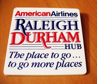 American Airlines  -  RARE collectible PIN   Raleigh Durham HUB - EXCELLENT COND