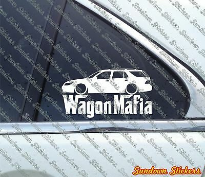 Lowered WAGON MAFIA sticker - for Saab 9-5 Station wagon for sale  Shipping to Canada