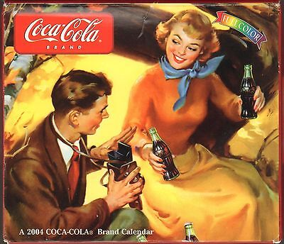 Coca Cola Coke - 2004 Boxed Calendar - New !!