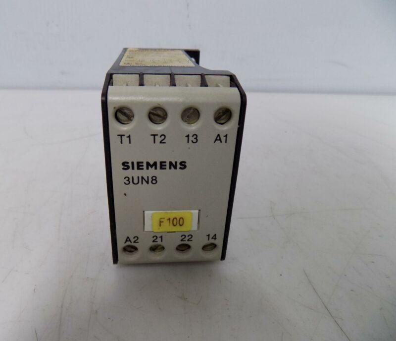 SIEMENS 3RT1044-1AK60 CONTACTOR 65A 120VAC 3 POLE NON-REVERSING USED NO BOX