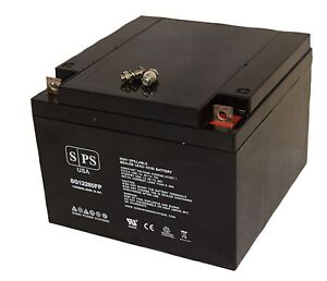 SPS SG12260FP 12V 26Ah Wheelchair Mobility Scooter Battery Replaces 12v 24ah