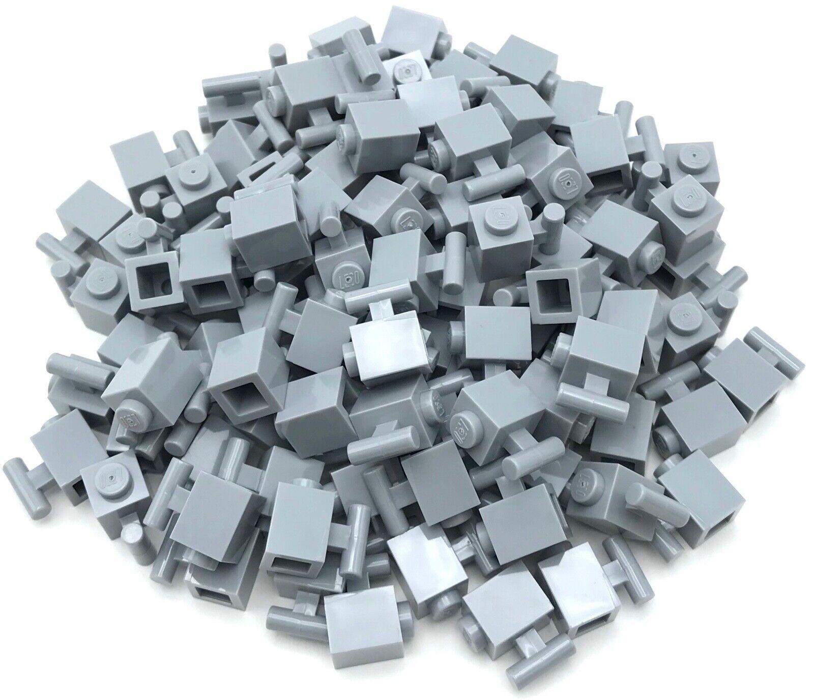 LEGO 20 Light Bluish Gray Technic Pins 1//2 2L Bar Extension Flick Missiles 44022