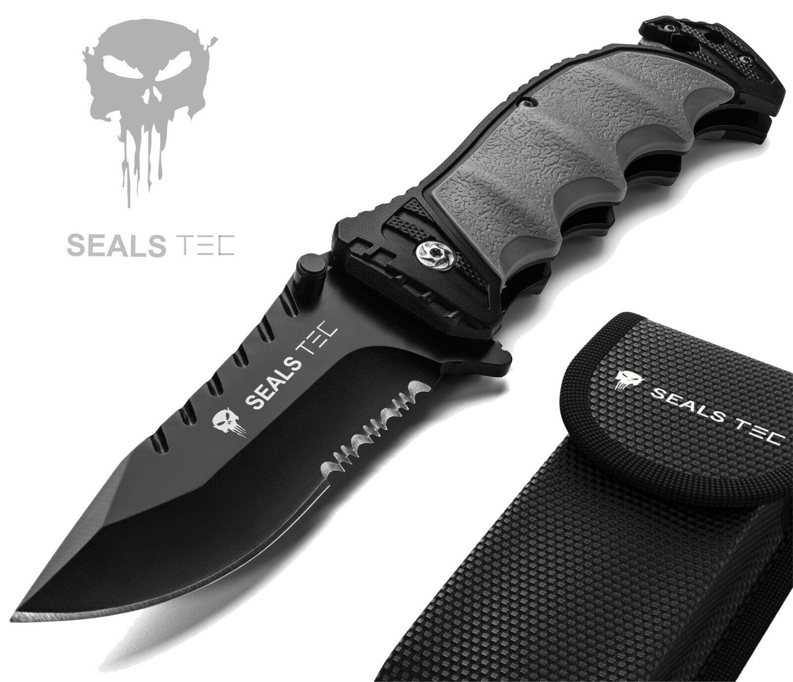 Sealstec® Klappmesser   Survival Taschenmesser   Outdoor Messer   Rettungsmesser