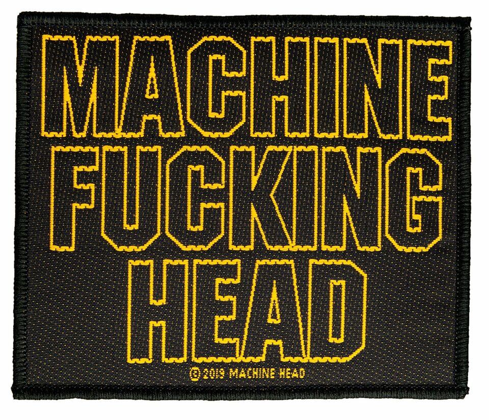 Machine Head Machine Fucking Head Aufnäher Patch Gewebt & Lizenzi in Gescher