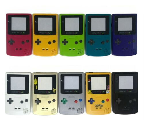 Nintendo Gameboy Color Shell Housing Replacement GBC Game Boy IPS V2 / Q5 Ready