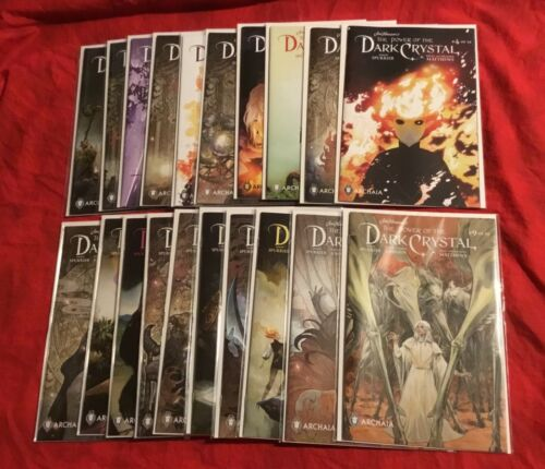 HENSON~Power of the Dark Crystal #1,2,3,4,5,6,7,8,9,10,11,12~FULL SERIES+Signed