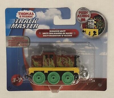 Trackmaster Push Along Small Engine Seaweed Salty NEW