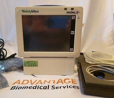 Welch Allyn Propaq Cs 242 Patient Monitor - Bp Ekg Spo2 Temperature Etco2