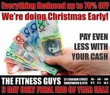 EVERYTHING IN FITNESS UP TO 70$ OFF - XMAS SALE!!! Underwood Logan Area Preview
