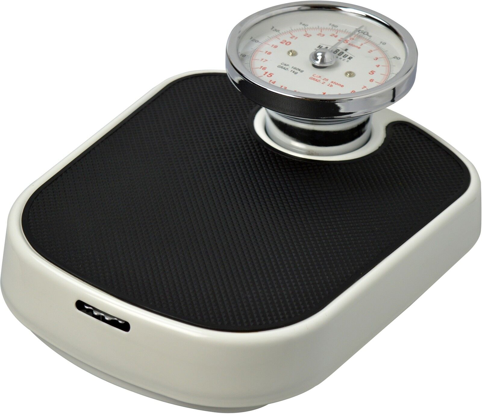 Traditional White Mechanical Bathroom Weighing Scales