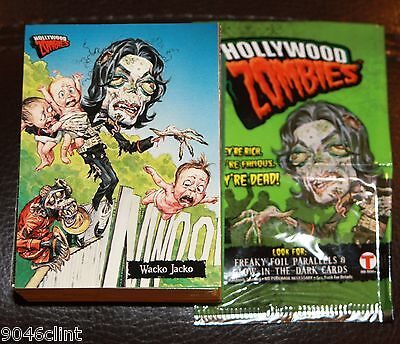 TOPPS HOLLYWOOD ZOMBIES COMPLETE SET OF 72 TRADING CARDS LIKE GARBAGE PAIL KIDS
