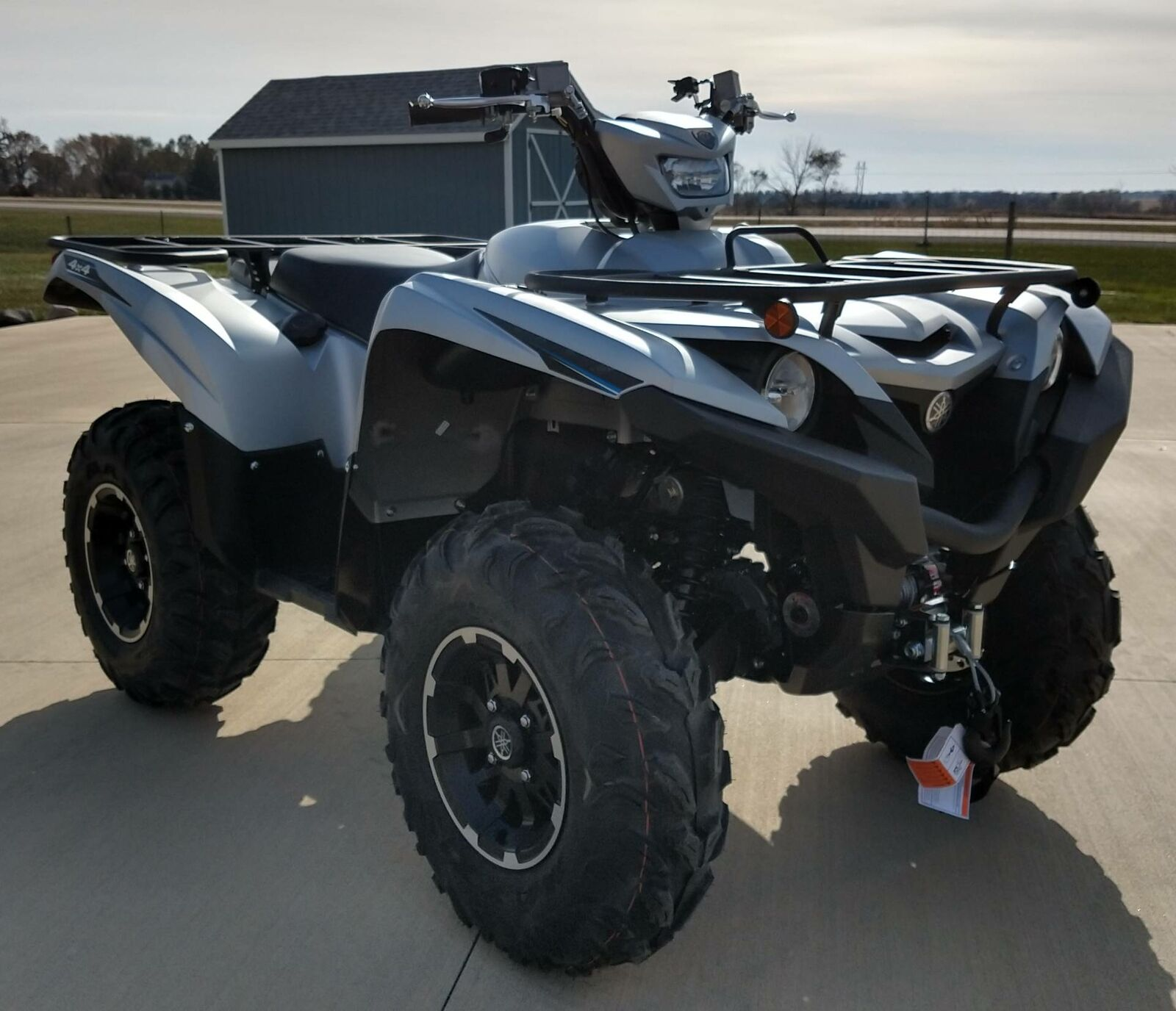 2020 Yamaha Grizzly EPS SE Matte Silver