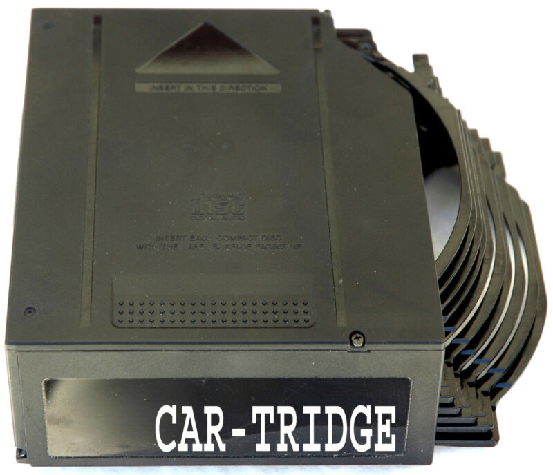 MAGAZINE CARTRIDGE FOR CHRYSLER DODGE PLYMOUTH MOPAR JEEP 10 DISC CD CHANGER
