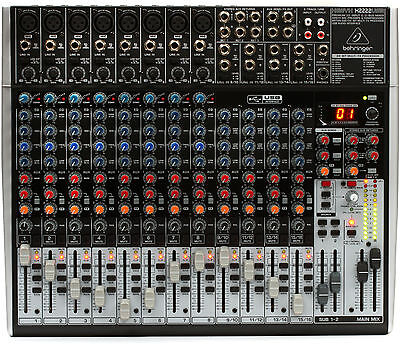 Behringer XENYX X2222USB 22-Channel Mixer Board w/ USB & FX - B-STOCK. Buy it now for 347.79