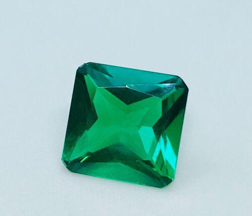 Lab-created Emerald Octagon Cut (11x11mm - 9x9mm)