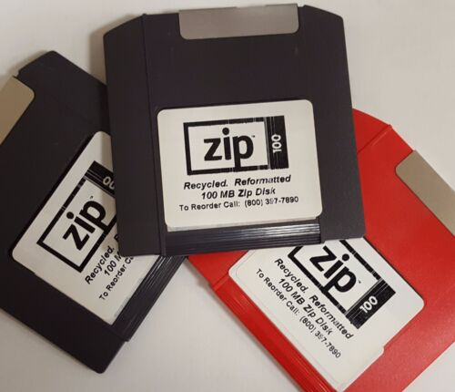 10 pack of 100 MB Zip Disks.  Tested and Guaranteed 100%.