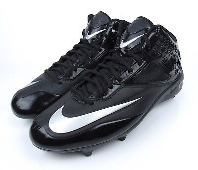 BRAND NEW Nike Lunar Code Pro 3//4 Wide Detachable Football Cleats 579669-100