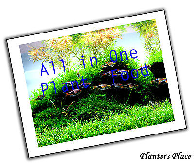 All in One Aquarium Plant Food - Plant Fertiliser and Root Tabs - BEST