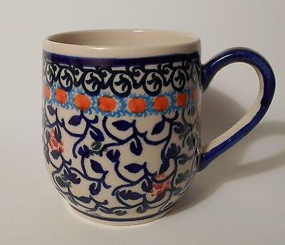 Schöne Kaffee / Tee Tasse aus Bunzlauer Keramik; 300ml (*4208)