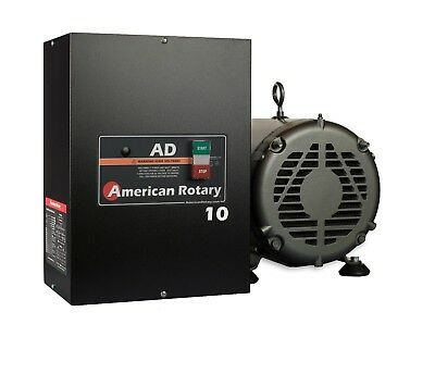 Rotary Phase Converter AD10 - 10 HP Digital Controls Heavy Duty HD CNC USA Made