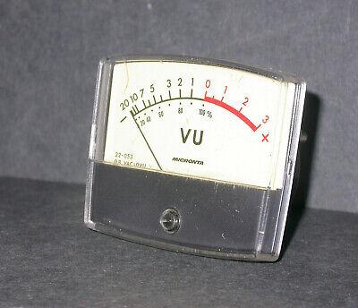 Micronta Model 22-053 Vu 2 34x 2 14 Analog Panel Meter