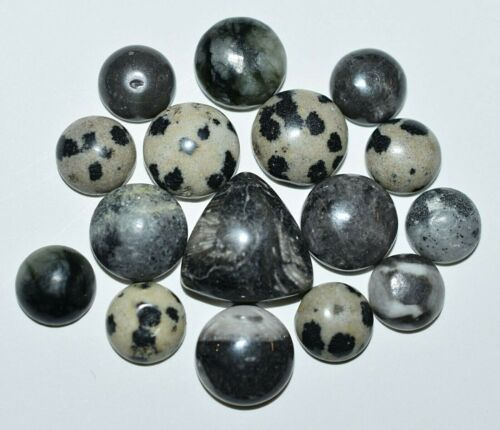 Assorted Set Of Natural Stone Cabochons For Jewelry, Wire Wrapping & Crafts