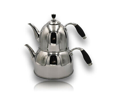 Korkmaz Kappa Teekocher 2,9 Liter Teekanne Caydanlik Induktion Teapot A078-01
