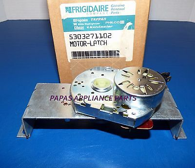 NEW OEM FRIGIDAIRE 5303271102  RANGE / OVEN SELF CLEANING DOOR LOCK ASSEMBLY