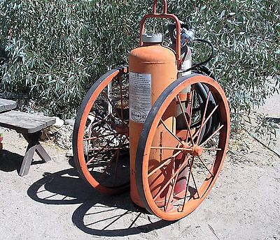 VINTAGE General Dry Chemical Wheeled Fire Extinguisher Fire Suppression