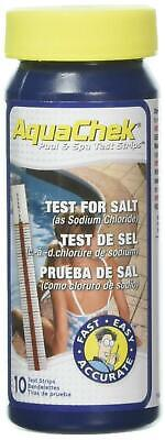 AquaChek 561140A Salt Water Swimming Pool Test Strips - White ()